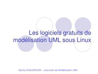 Les logiciels gratuits de modélisation UML sous Linux