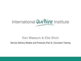 Ken Wassum & Etta Short