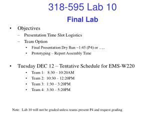 Final Lab