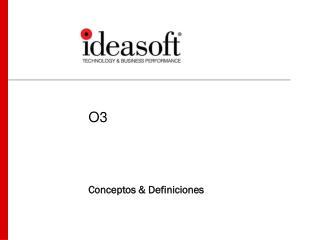 Conceptos & Definiciones