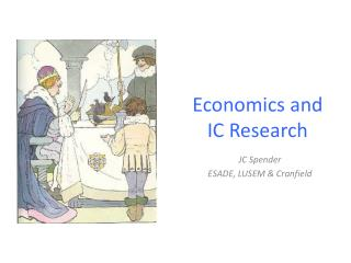 Economics and  IC Research