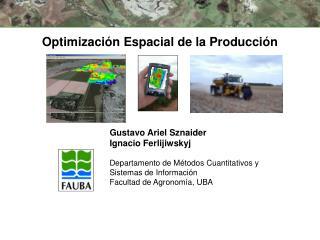 Optimización Espacial de la Producción