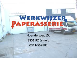 Hoenderweg 15c 3851 RZ Ermelo 0341-552882