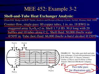 MEE 452: Example 3-2