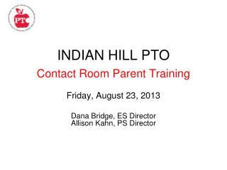 INDIAN HILL PTO