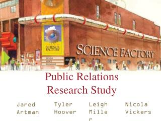 Public Relations Research Study