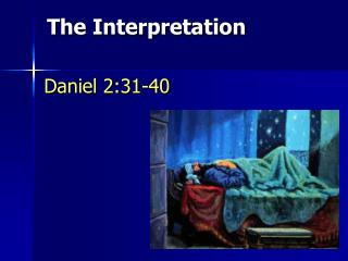 Daniel 2:31-40