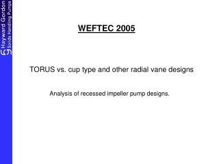 WEFTEC 2005