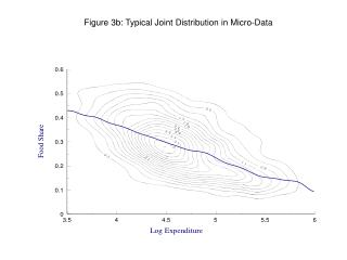 Figure 3b: Typical Joint Distribution in Micro-Data