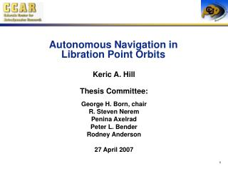 Autonomous Navigation in  Libration Point Orbits