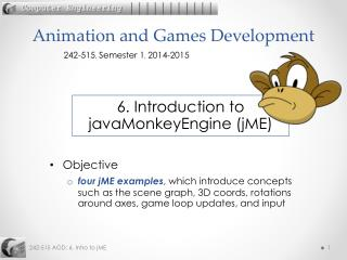 Animation and Games Development
