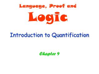 Introduction to Quantification
