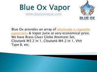 Wholesale E Cigarette Vaporizers