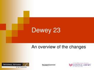 Dewey 23