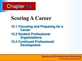 Scoring A Career