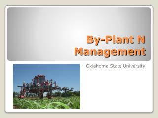 By-Plant N Management
