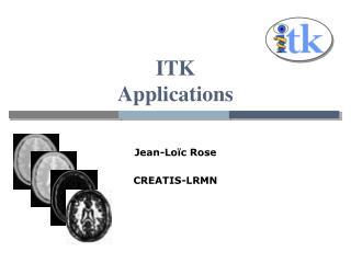 ITK  Applications