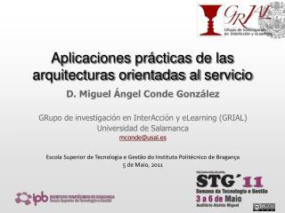 Aplicaciones pr cticas de las arquitecturas orientadas al servicio