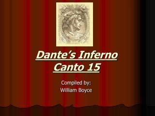 Dante's Inferno Canto 15