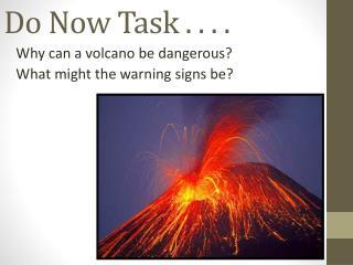 Do Now Task . . . .