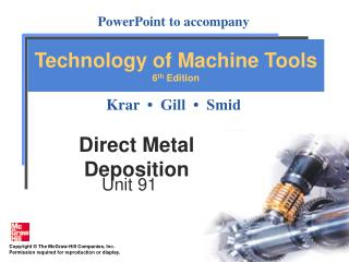 Direct Metal Deposition