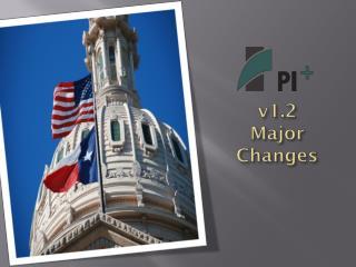v1.2  Major Changes