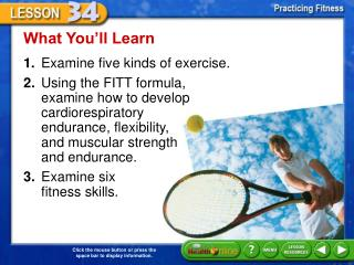 What You�ll Learn