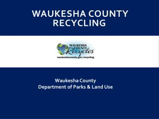 Waukesha County Recycling