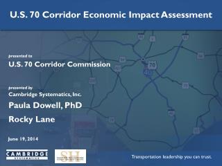U.S. 70 Corridor Commission