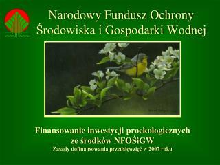 Narodowy Fundusz Ochrony Srodowiska i Gospodarki Wodnej