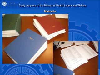 Study programs of the Ministry of Health,Labour and Welfare