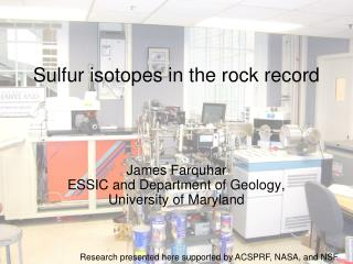 Sulfur isotopes in the rock record