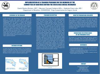 IMPLEMENTATION OF A TRAINING PROGRAM FOR THE MEMBERS OF THE