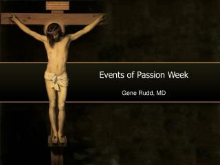 Events of Passion Week