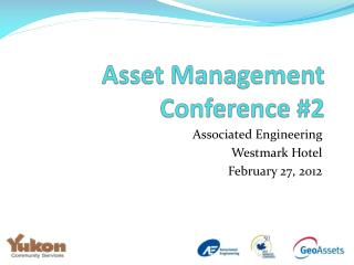 Asset Management Conference #2