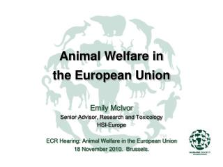 Animal Welfare in  the European Union