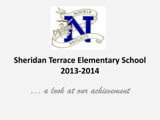 Sheridan Terrace Elementary School 2013-2014
