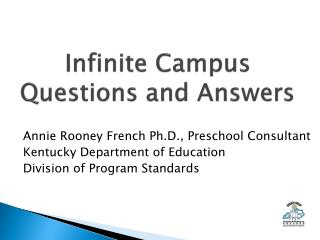 Infinite Campus  Questions and Answers