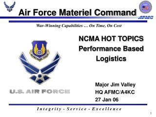 NCMA HOT TOPICS Performance Based Logistics