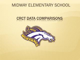 CRCT DATA COMPARISONS