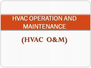 HVAC-O&M