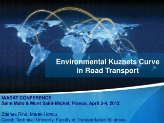 Environmental Kuznets Curve  in Road Transport
