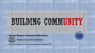 Building comm unity