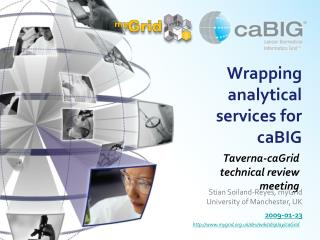 Wrapping analytical services for caBIG