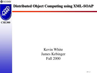 Distributed Object Computing using XML-SOAP