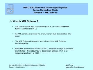 What is XML Schema ?