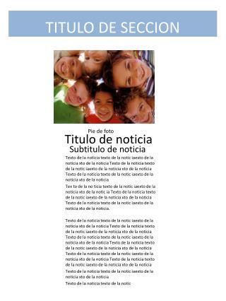 TITULO DE SECCION