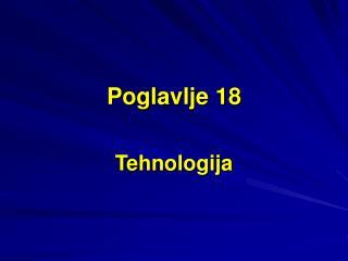Poglavlje 18