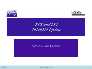 ECS and LS1 20140219  Update