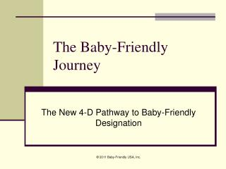 The Baby-Friendly Journey